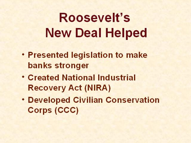was the new deal a success or failure